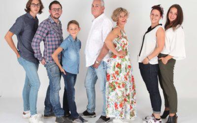 Séance photo famille dans les Vosges