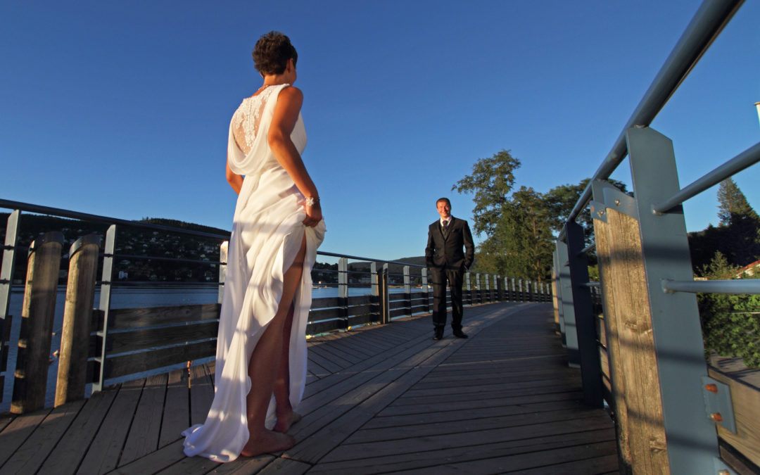 Photographe de mariage à Gérardmer